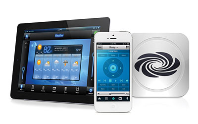crestron home security system