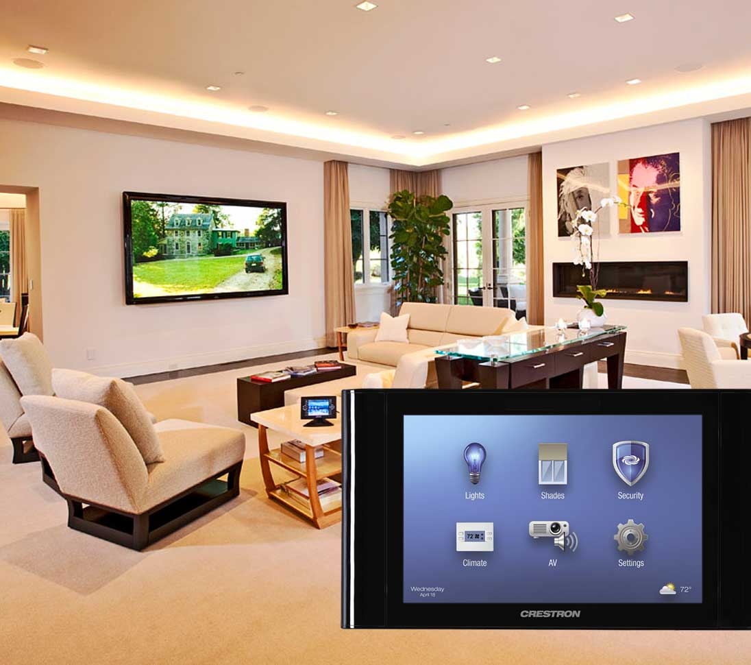 crestron homeautomation