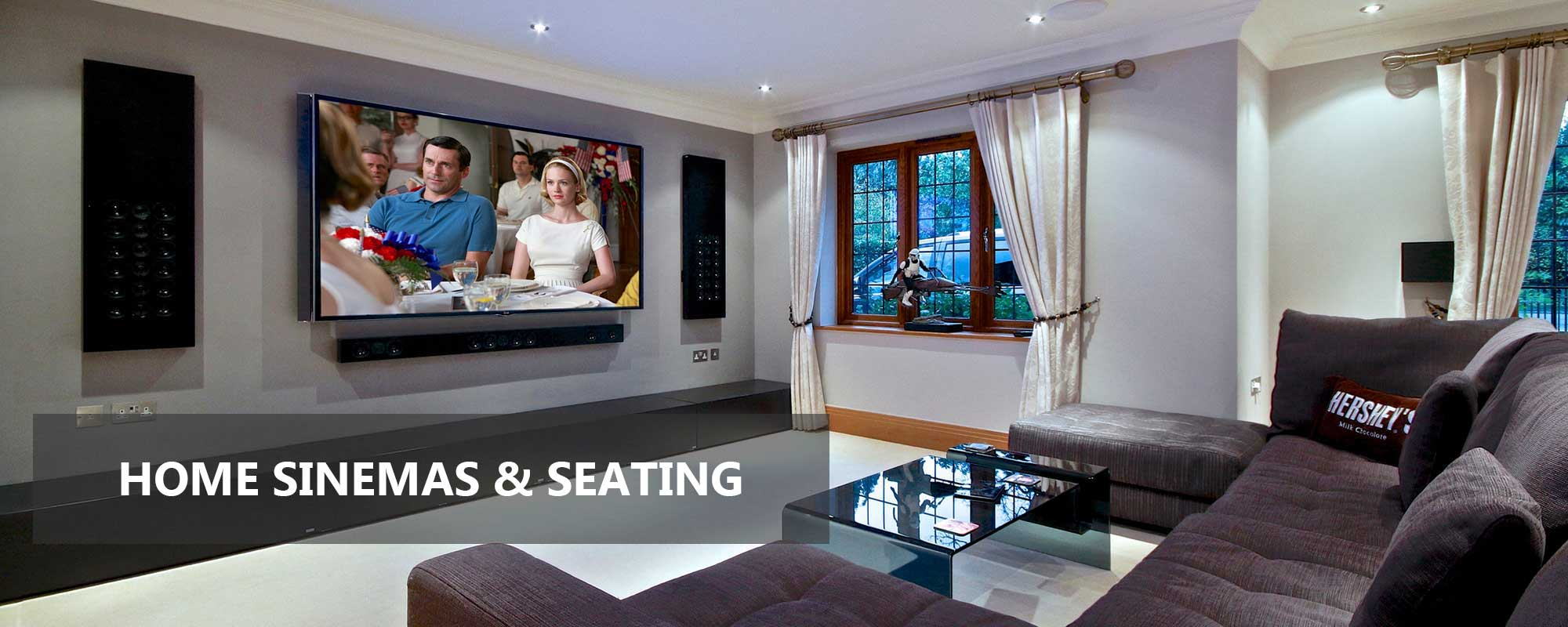 home cinemas and seating